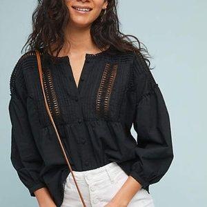 Anthropologie Eri + Ali Milla Peasant Lace Tunic